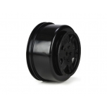 TLR Wheel, Black (2): 22SCT
