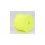 TLR Rear Wheel, Yellow (2): 22/22-4