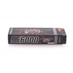 Vampire Racing 6000mAh 80C 7.6v 2S Stick Pack LiPo-HV