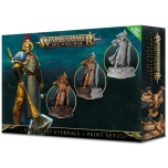 Warhammer Age of Sigmar Stormcast Eternals + paints set (opened box)