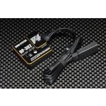 Yokomo DP-302 V4 Drift Performance Steering Gyro with End Point Adjust (2/3ch Black)