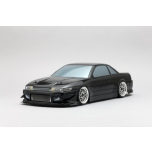 Yokomo Drift X Treme PS13 Silvia Clear Body Set, No Decals