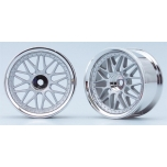 Yokomo 10 Spoke Wheels - Matsilver (2)