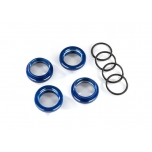 Spring retainer (adjuster) Alu Blue GT-Maxx (4) (with O-Ring)