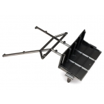 Tube chassis-Chassis, center section Rear satin-Black-chrome