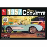 AMT Car Culture 1957 Corvette Convertible (White) 1:25