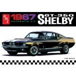 AMT 1967 Mustang Shelby GT350 1:25