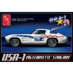 AMT USA-1 1963 Chevy Corvette 1:25