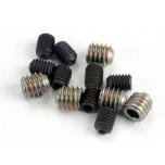 Set (grub) screws, 3x4mm (8)/ 4x4mm (stainless) (4)