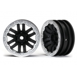 Wheels, TRX-4® 1.9 (satin beadlock) (2)