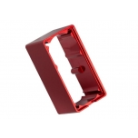 Servo case, aluminum (red-anodized) (middle) (for 2255 servo)