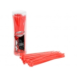Team Corally - Cable Tie Raps - Red - 2.5x100mm - 50 Pcs
