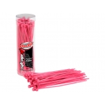 Team Corally - Cable Tie Raps - Pink - 2.5x100mm - 50 Pcs