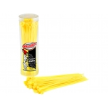Team Corally - Cable Tie Raps - Yellow - 2.5x100mm - 50 Pcs
