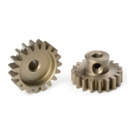 Corally Pinion 19T 32P for 3.17mm shaft, CNC hardened steel
