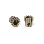 Team Corally - M0.6 Pinion – Short – Hardened Steel – 14 Teeth - ø3.17mm