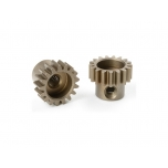 Team Corally - M0.6 Pinion – Short – Hardened Steel – 17 Teeth - ø3.17mm