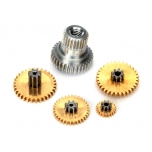 Gear set, metal for 2065X(2065) waterproof sub-micro servo