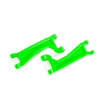 Suspension arms, upper, green (left or right, front or rear) (2) (for use with #8995 WideMaxx  suspension kit)