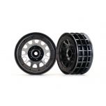 "Wheels, Method 105 2.2"" (black chrome, beadlock) (beadlock rings sold separately)"
