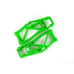 Suspension arms, lower, green (left and right, front or rear) (2) (for use with #8995 WideMaxx  suspension kit)