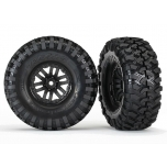 "Tires and wheels, assembled, glued (TRX-4® 1.9"" wheels, Canyon Trail 4.6x1.9"" tires) (2)"