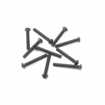 Screw Hex Button Head M3x25mm Steel (10)
