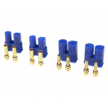 Connector Gold Plated EC2 (2 pairs)