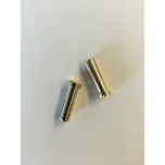 5mm kullatud pistik (2tk)