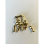 5mm Gold Plugs, 18mm, Low profile (10)