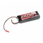 Receiver pack LiPo 7,4V, 2600mAh