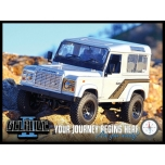 RC4WD Gelande II Truck Kit + Defender D90 Body Set