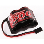 Receiver hump pack NiMH 1600 mAh (6.0V)
