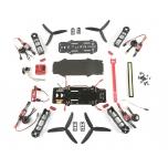 E-Turbine FPV Racer TB250 ARF Kit (w/ Motors, ESC, CC3D, LEDs)