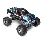 TRAXXAS Stampede RTR 1/10 2WD Monster Truck, harjadega mootor, ilma aku ja laadijata (Sinine)