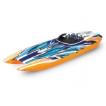Traxxas DCB M41™ Brushless Catamaran, Orange (w/o batteries/charger)