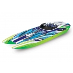 Traxxas DCB M41™ Brushless Catamaran, Green (w/o batteries/charger)