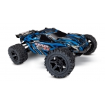 Traxxas Rustler 4X4 Brushed 1/10 Stadium Truck (w/ Battery & 12V DC Charger), Blue
