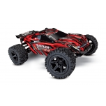 Traxxas Rustler 4X4 Brushed 1/10 Stadium Truck (w/ Battery & 12V DC Charger), Red