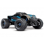 Traxxas MAXX VXL-4S TSM Monster Truck RTR (w/o Battery/Charger), Blue