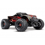 Traxxas MAXX VXL-4S TSM Monster Truck RTR (w/o Battery/Charger), Red