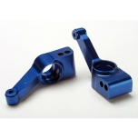 Traxxas alu stub axle carriers 4x4 1/10, blue anodized