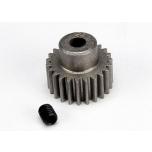 Traxxas pinion gear, 23-T  (48-pitch) / set screw
