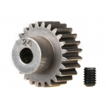 Traxxas pinion gear, 24-T  (48-pitch) / set screw