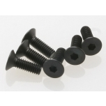 Screws, 4x12mm countersunk (hex drive) (6)