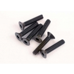3x15mm countersunk machine (6) (hex drive)