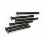 Screws, 3x30mm button-head (hex drive) (6)