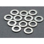 Washers, 3x6mm metal (12)