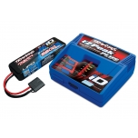 Traxxas Battery/charger completer pack (EZ-Peak Plus Charger + 5800 2S LiPo)