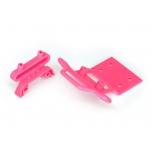 Bumper, bumper mount, front (pink)